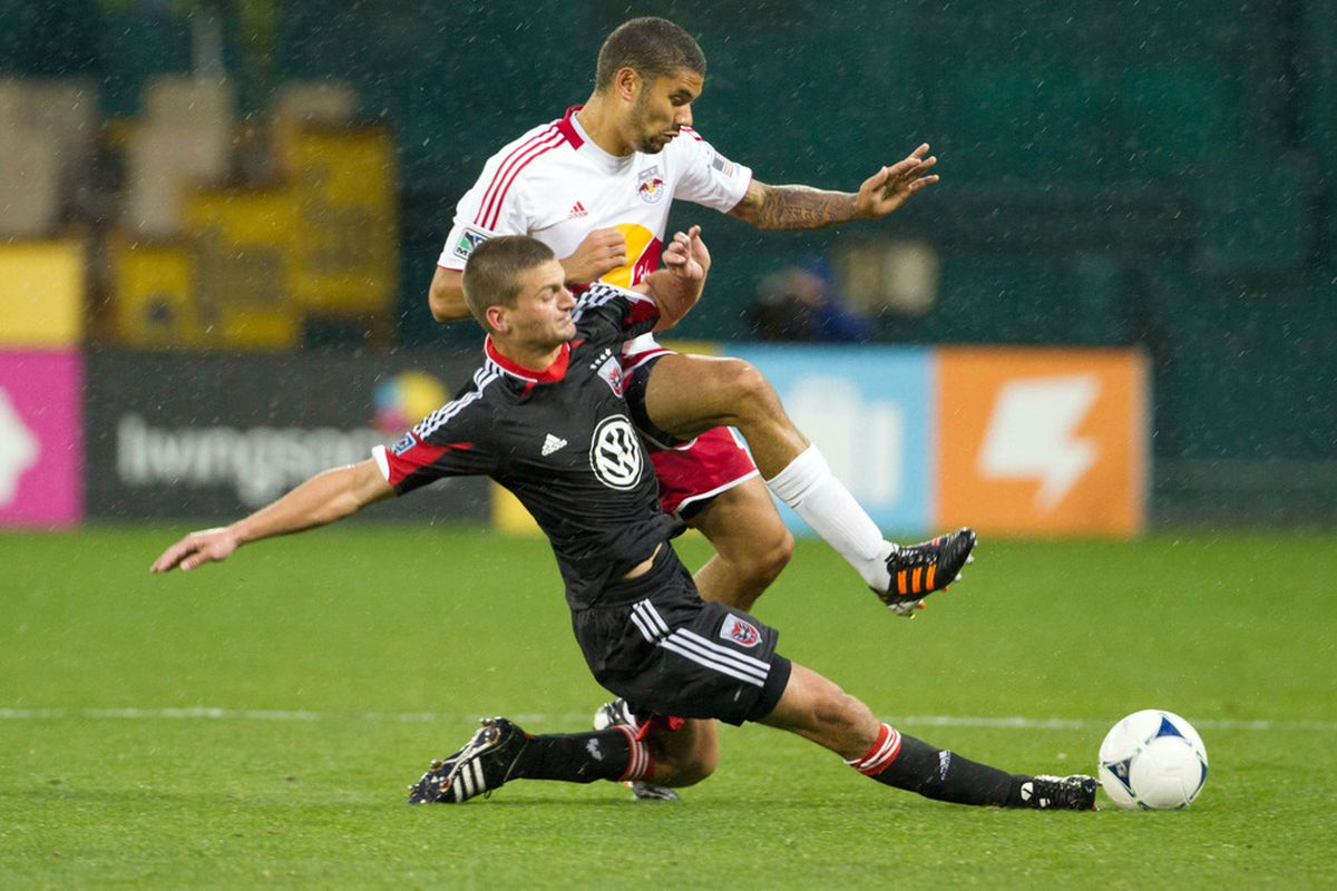 D.C. United received some good news today regarding Perry Kitchen's injury