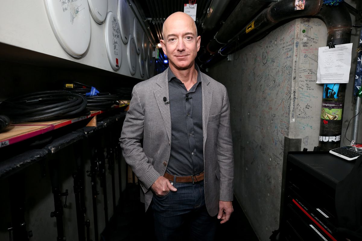 Jeff Bezos at the WIRED25 Summit on October 15, 2018 in San Francisco, California