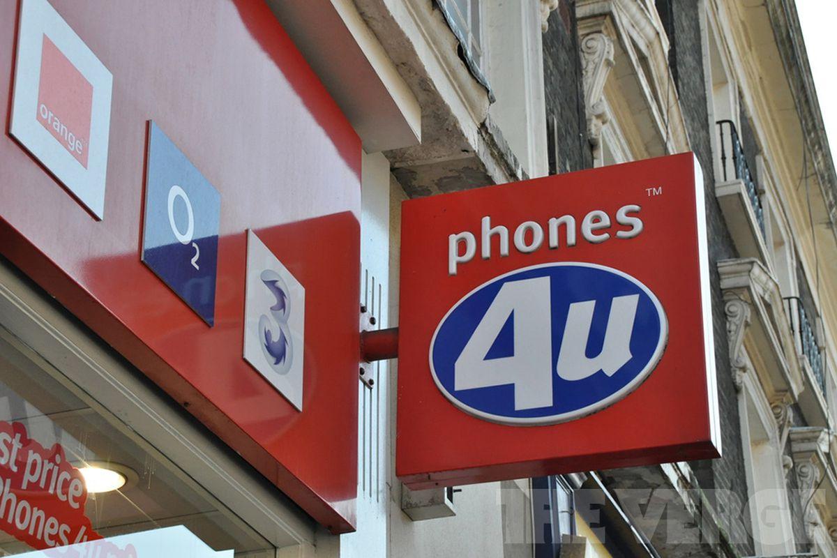 Phones4U watermark stock