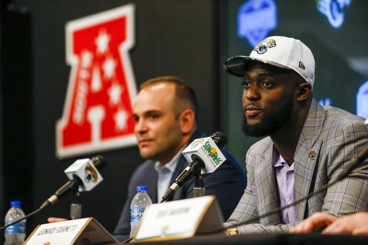 NFL: Jacksonville Jaguars-Leonard Fournette Press Conference