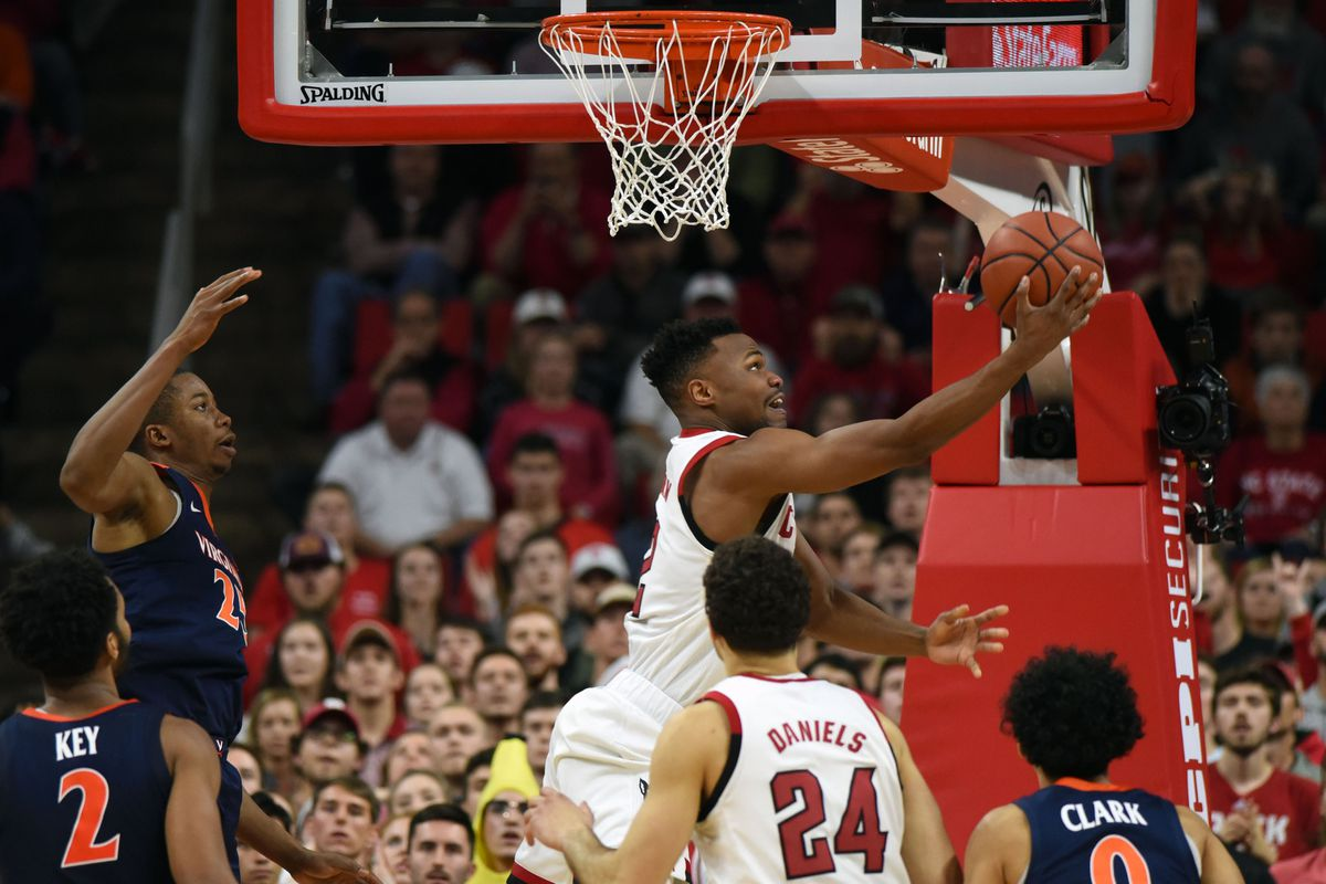NCAA Basketball: Virginia at N.C. State