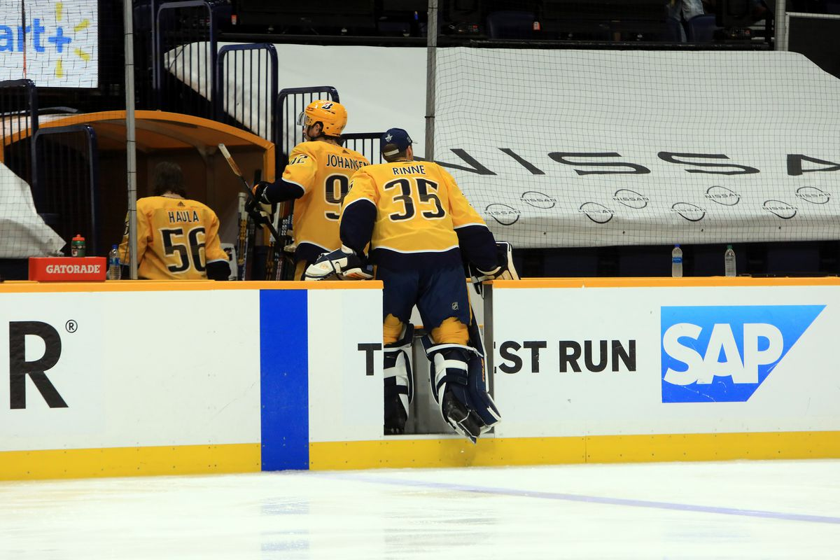 NHL: MAY 27 Stanley Cup Playoffs First Round - Hurricanes at Predators