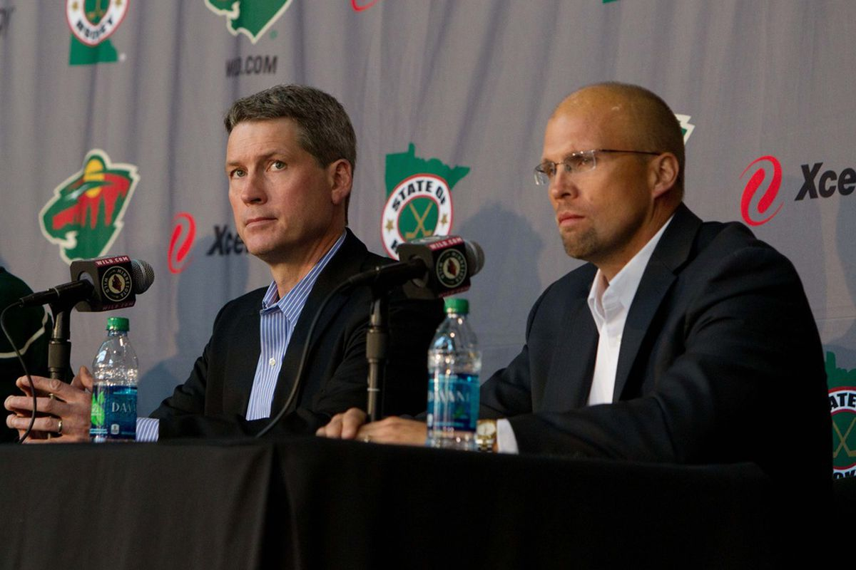 The pressure will be on for Chuck Fletcher and Mike Yeo's team to take the next step.
