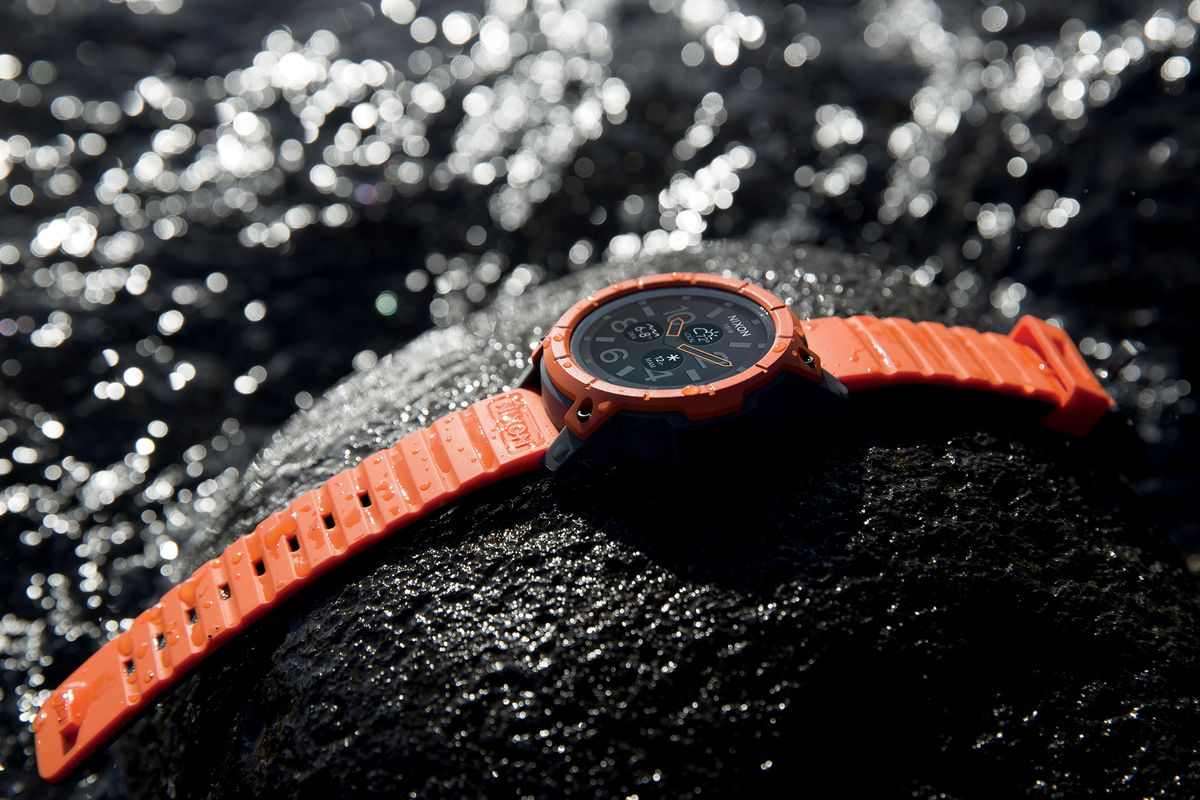 48b63465892 Nixon s Mission smartwatch is designed to take the drop - The Verge