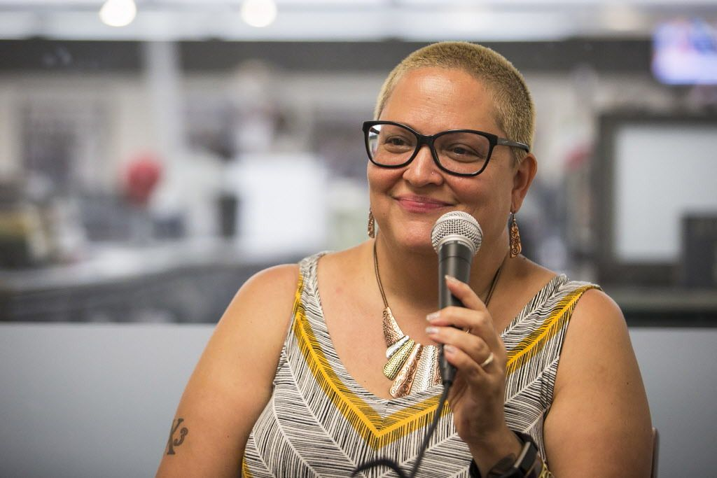 """Rev. Marilyn Pagan-Banks: """"I have this tattoo that says 'Hood' and 'Holy.' I'm still both."""" 