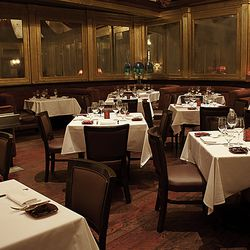 The dining room at Red Square.