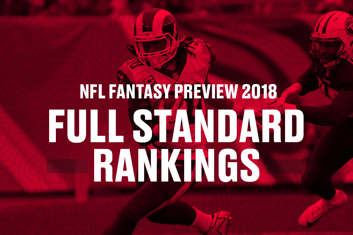 63b830fd Fantasy football rankings 2018: The top 150 players in standard ...