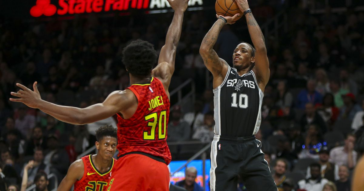It's time for Spurs vs Hawks, January 17, 2020, 7:30 PM CT - Pounding The Rock