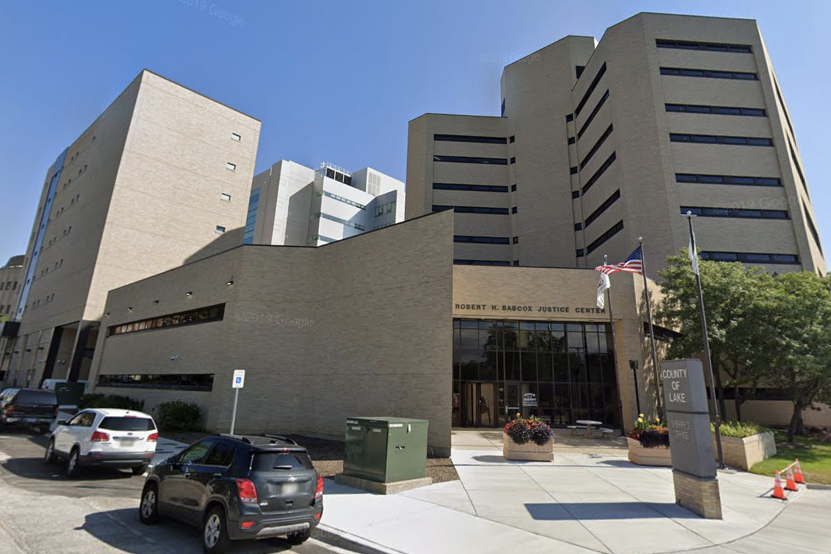 A woman at the Lake County Jail, housed at the Robert H. Babcox Justice Center in Waukegan, tested positive for the coronavirus April 21, 2020.