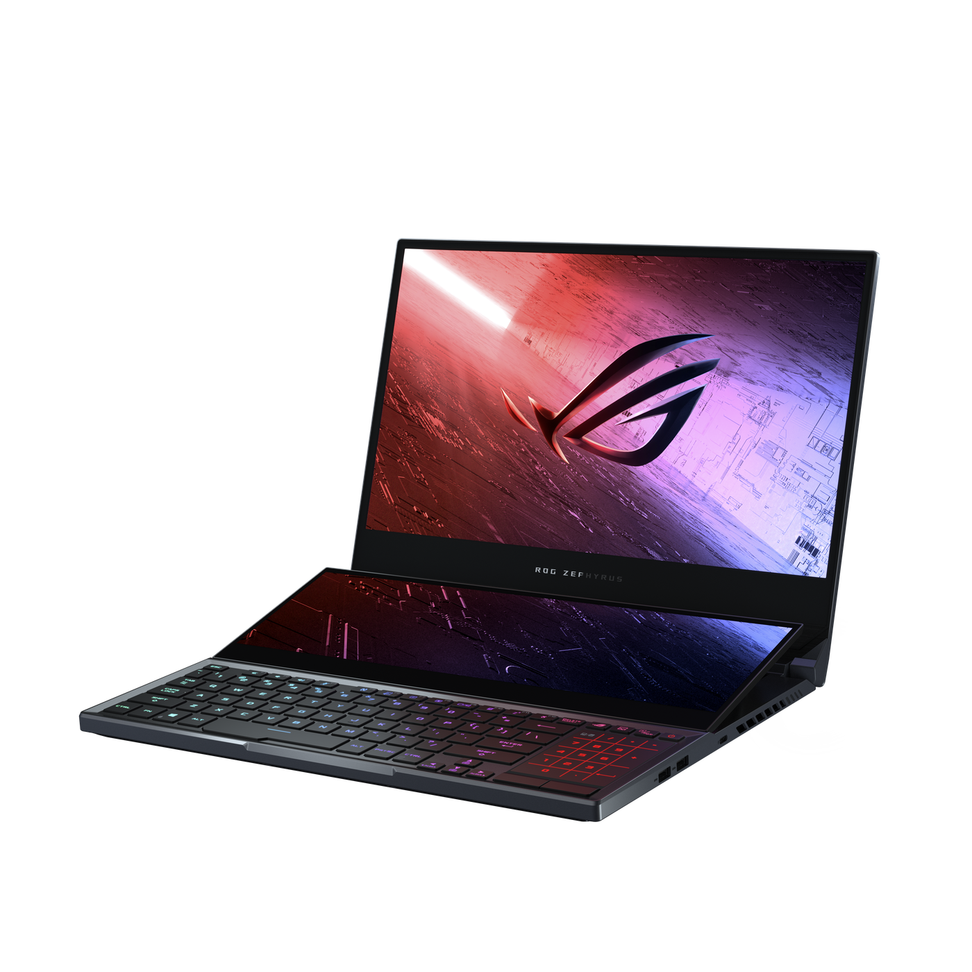 Asus Rog Zephyrus Duo 15 Is A Gaming Laptop With Two Screens The Verge