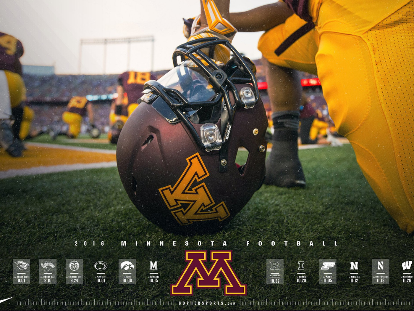 Ranking Minnesota Football S Schedule Posters For 2016 The Daily Gopher