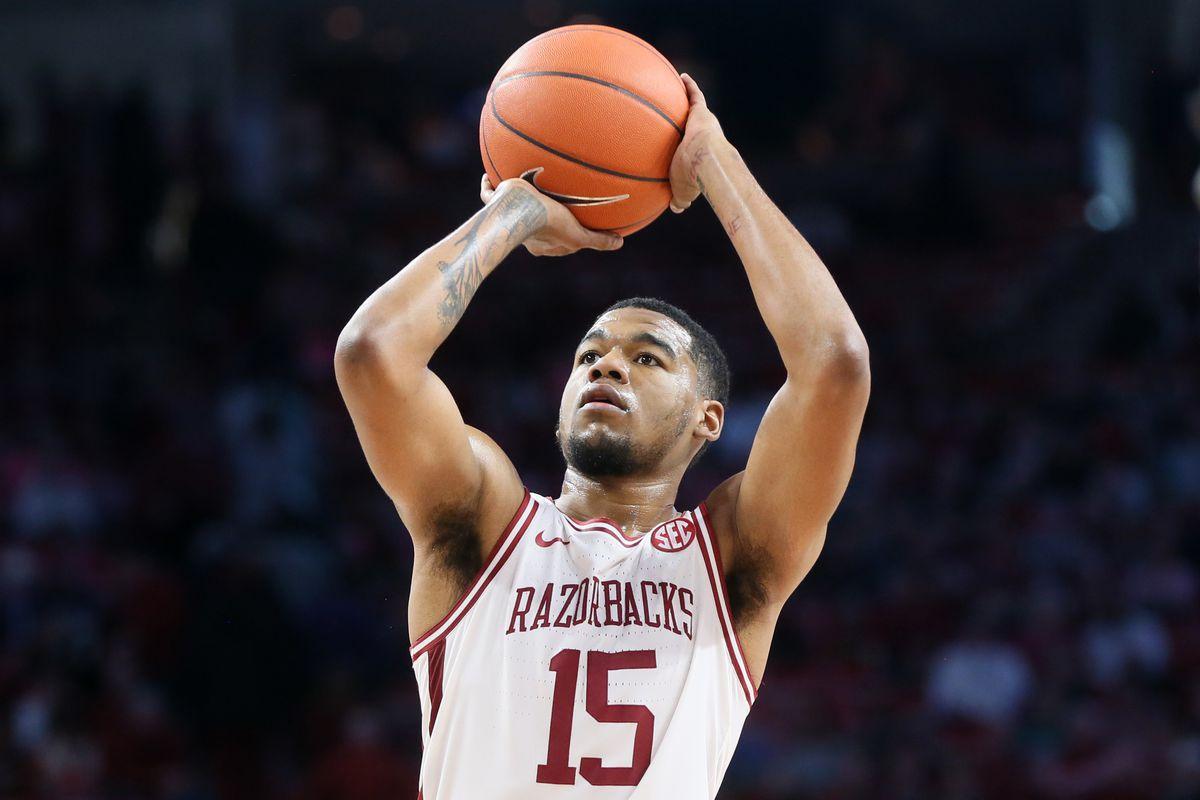 NCAA Basketball: Texas Christian at Arkansas