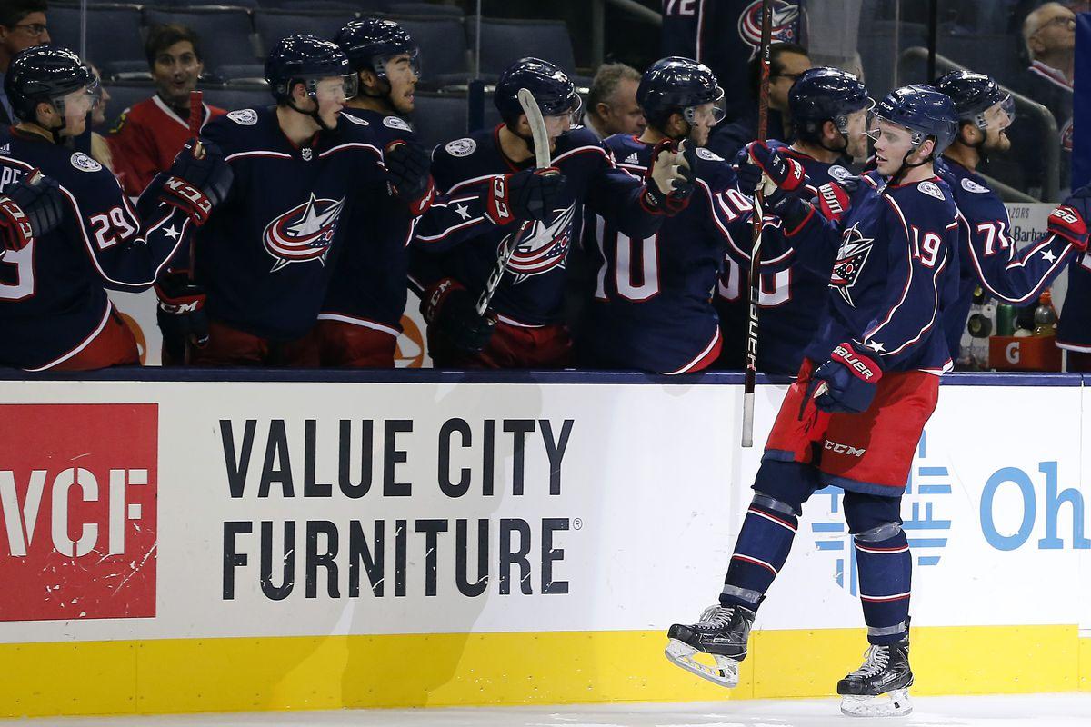 NHL: Preseason-Chicago Blackhawks at Columbus Blue Jackets