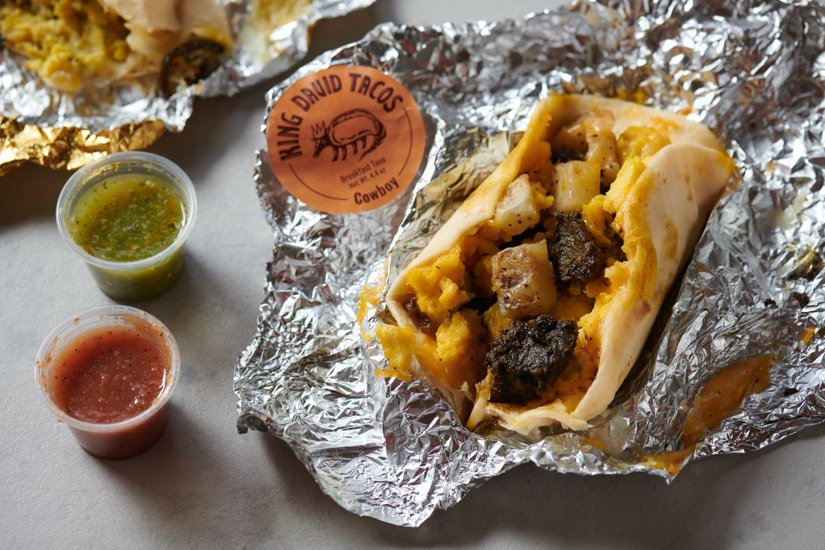 Austin-style tacos from King David Tacos