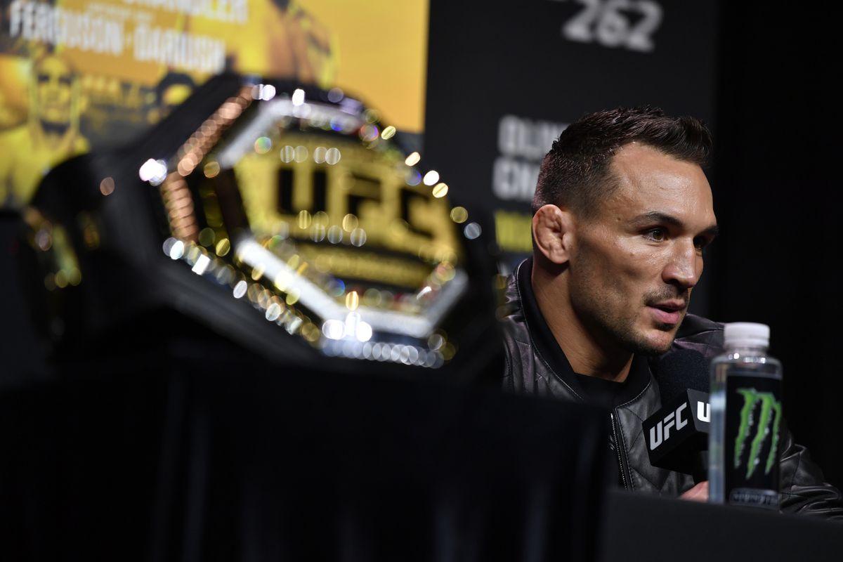 UFC 262新闻发布会