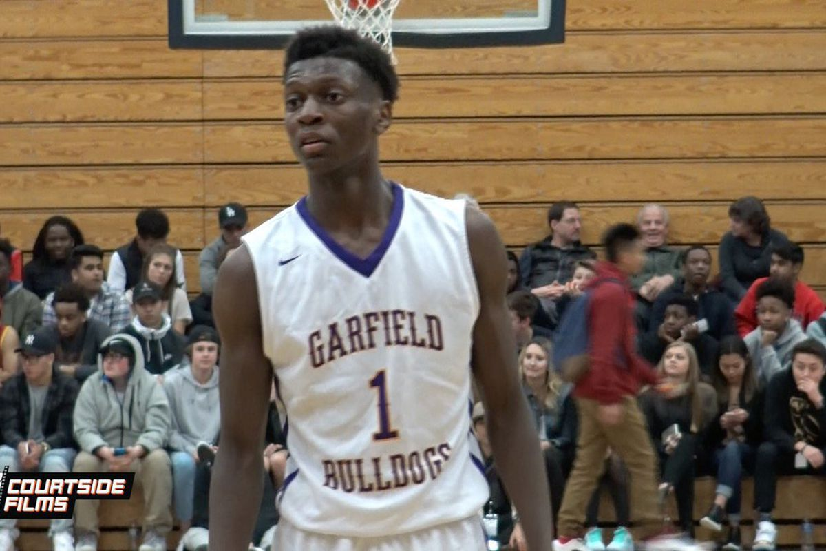 "f2aac3f2315 How familiar are you with the Class of 2019 s best basketball prospect from  the State of Washington  He s a 6 6"" small forward who plays his high  school ..."