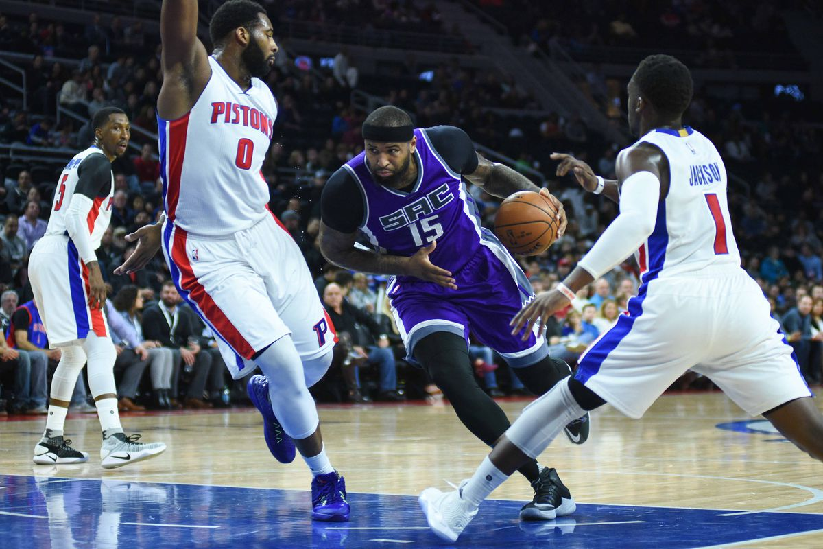 NBA Trade Rumors: Cousins for Drummond deal floated by