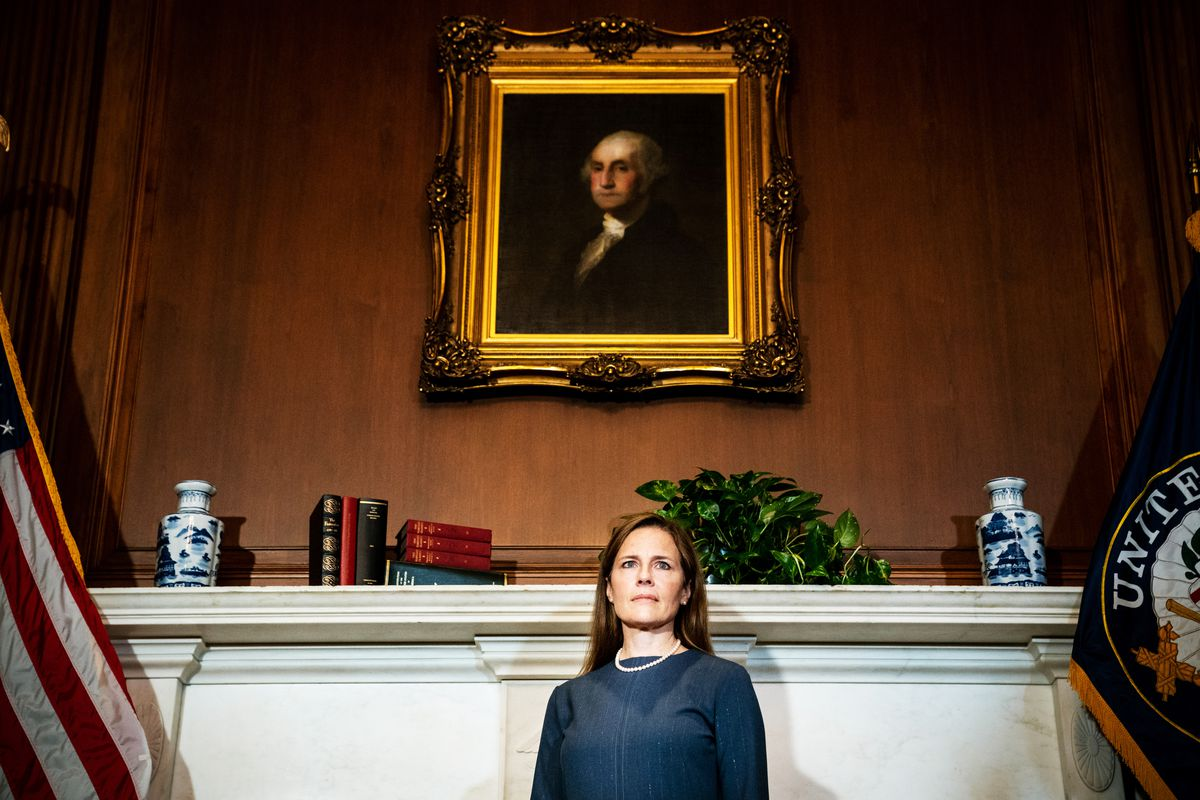 Amy Coney Barrett officially confirmed as a Supreme Court justice in Senate vote