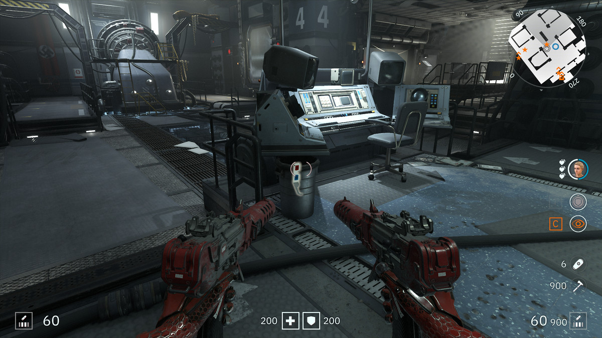 Wolfenstein: Youngblood 3D Glasses 61 Akademiker collectibles
