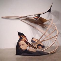 Sculpture by artist David Lindsay, which will be shown at the Mormon Arts Center Festival in New York City