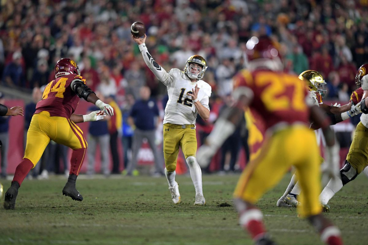 Notre Dame Fighting Irish VS USC Trojans: Top Player ...