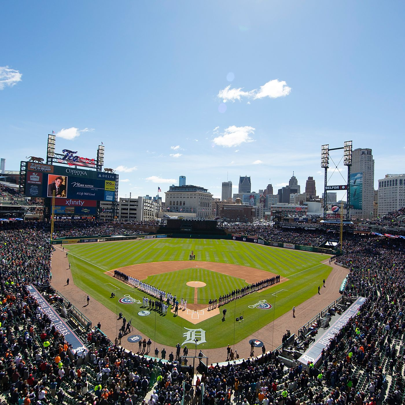 erica Park The ultimate guide to the home of the Detroit Tigers Curbed Detroit