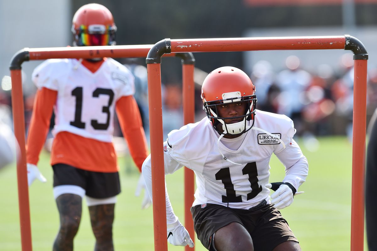 outlet store 8b053 77a77 Cleveland Browns: Antonio Callaway working his way back into ...