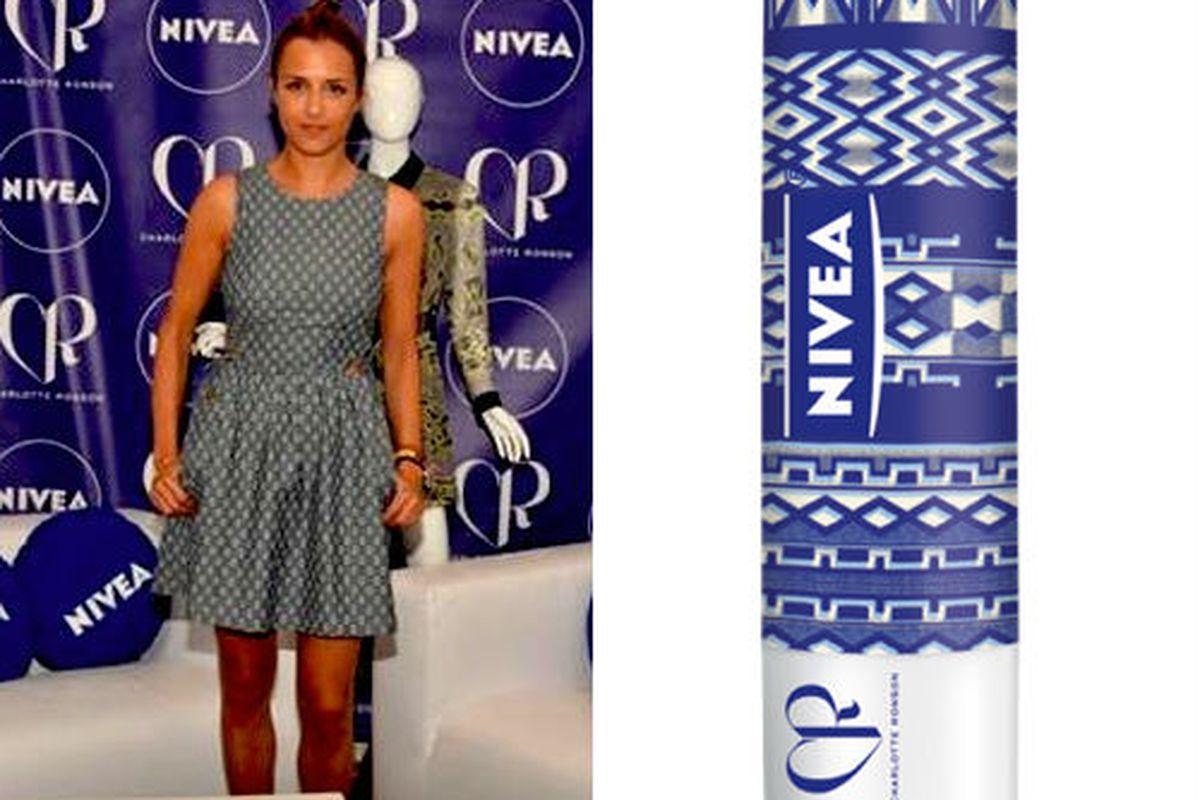 Charlotte Ronson for Team NIVEA, via NIVEA