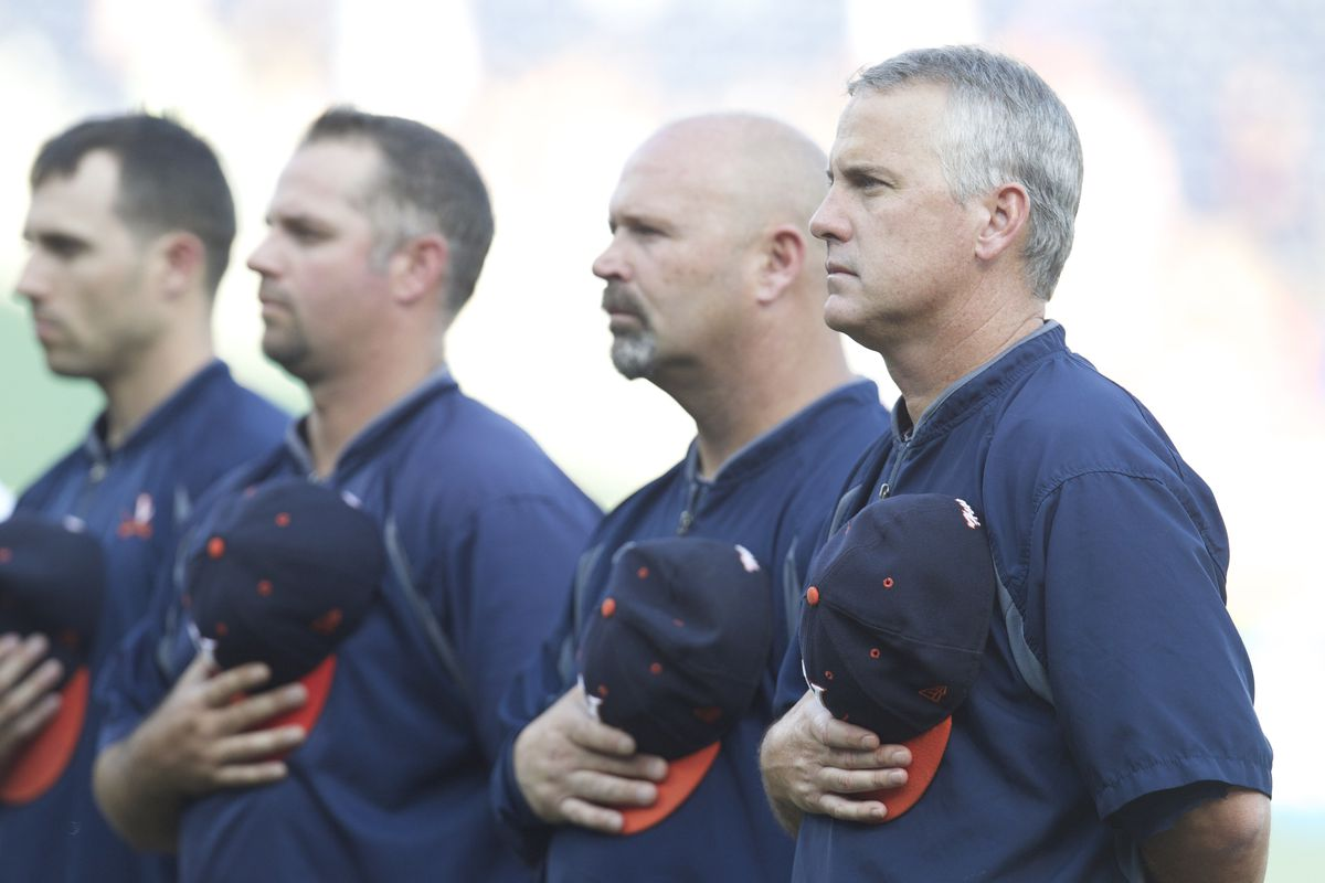 NCAA Baseball: College World Series-Florida vs Virginia
