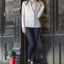 """<a href=""""http://cleveralice.com/collections/cindy-johnny/products/cindy-johnny-jacket-blouse?variant=901321613"""">Cindy + Johnny Silk Jacket Blouse</a>, $85.00 (retail $195.00)"""
