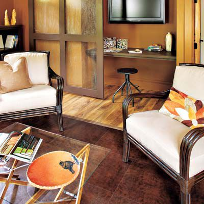 Laminate Floor In Living Room