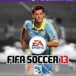 FIFA13 cover: Brad Evans