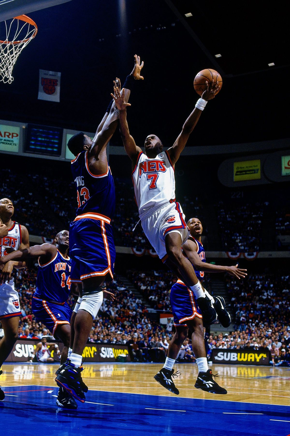 New York Knicks vs. New Jersey Nets, Game 3
