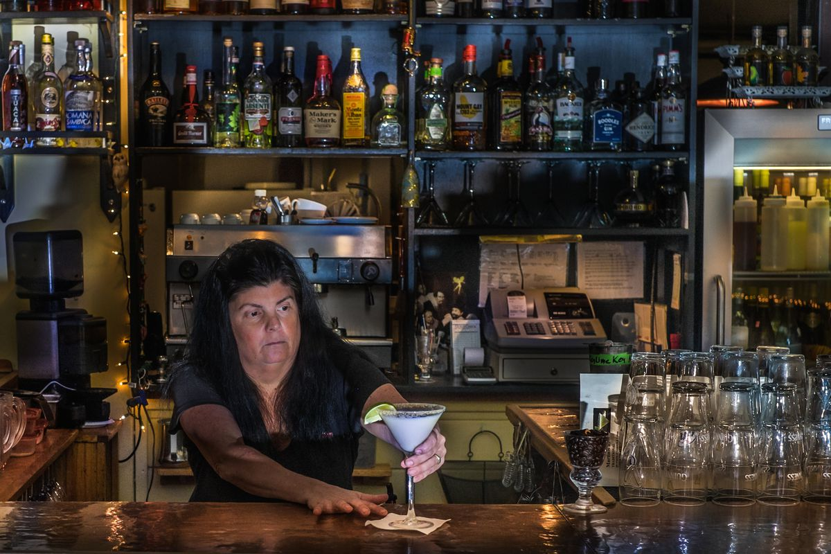 Sarah Martin Bar of Chocolate cocktail John Myers