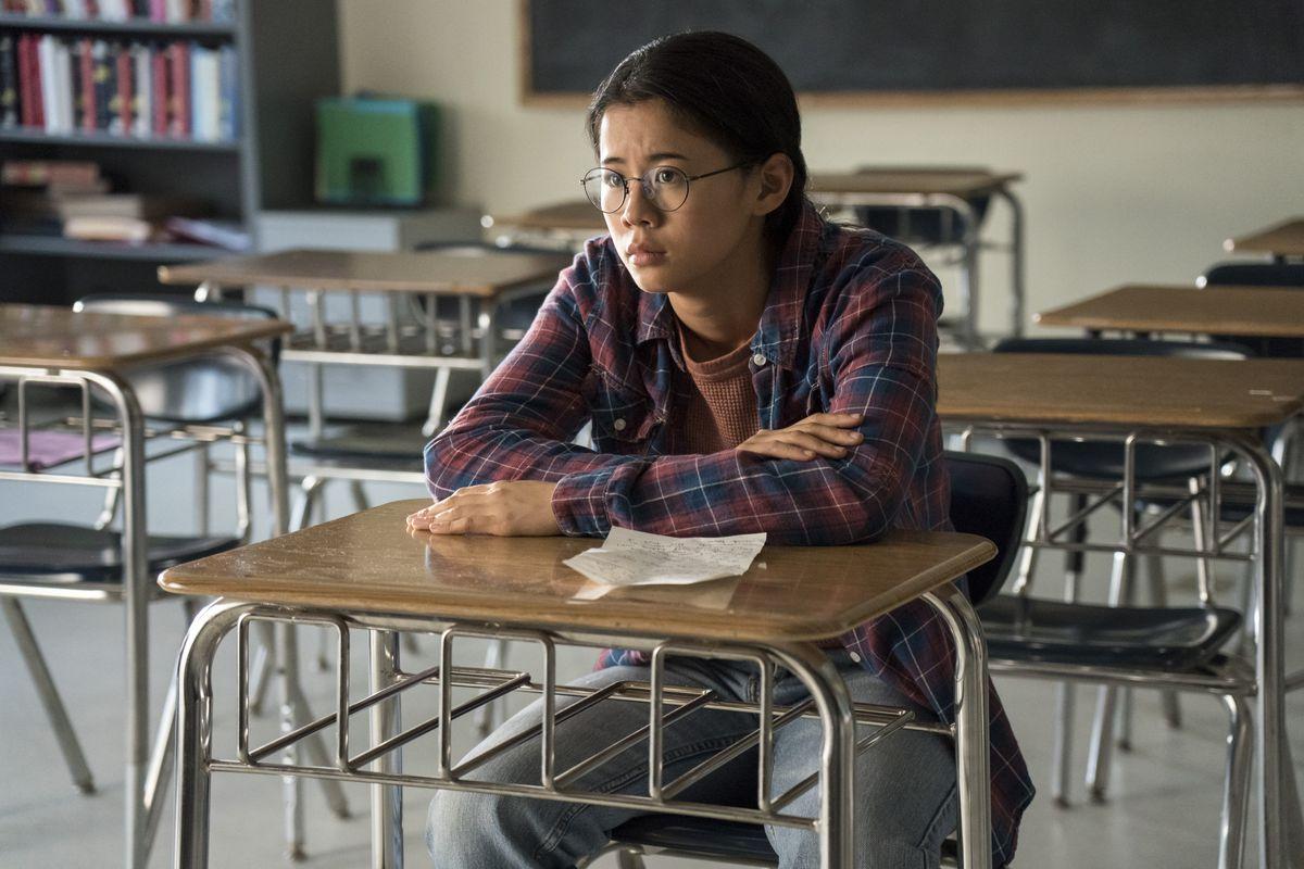 Leah Lewis stars as Ellie.