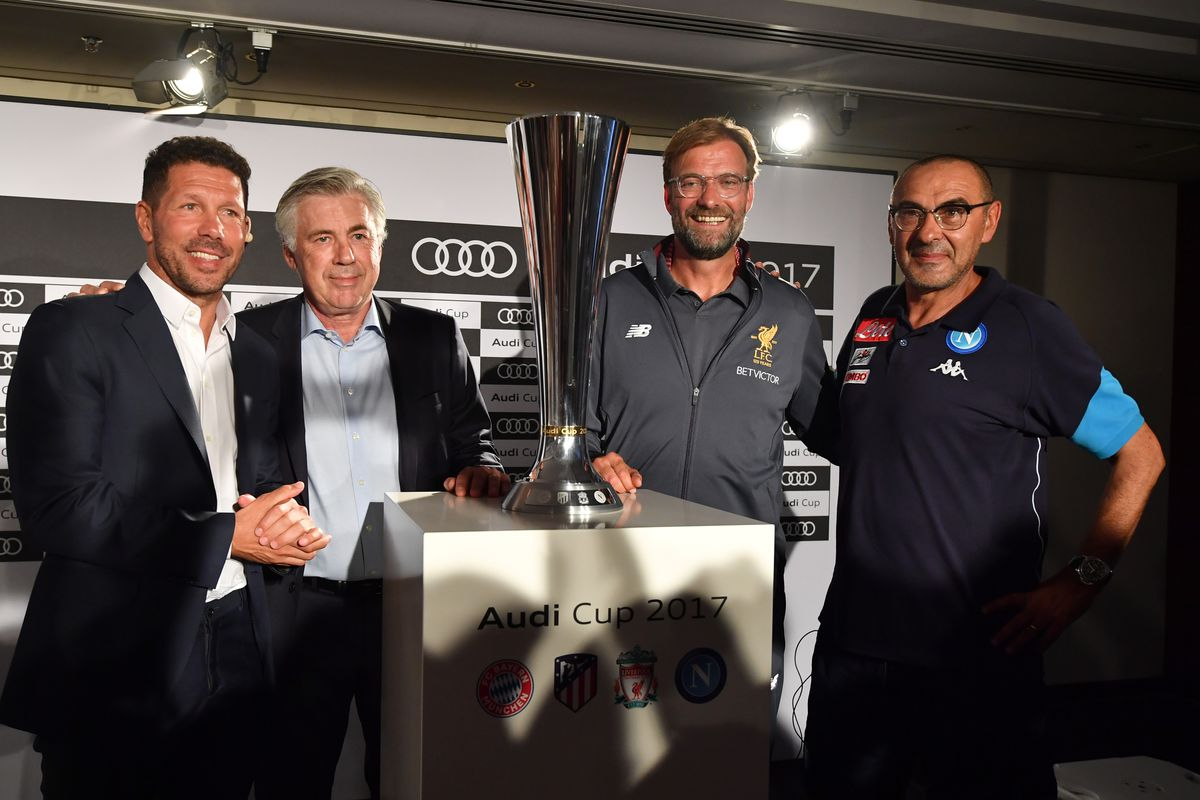 Audi Cup 2017 Press Conference