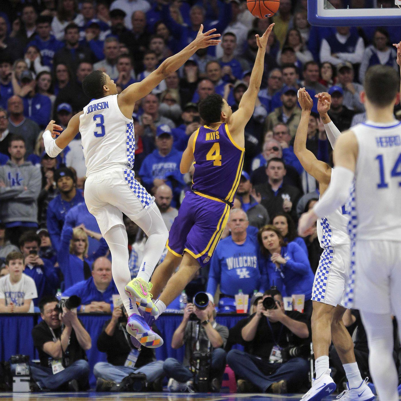 NCAA approves new 3-point line, basket interference review