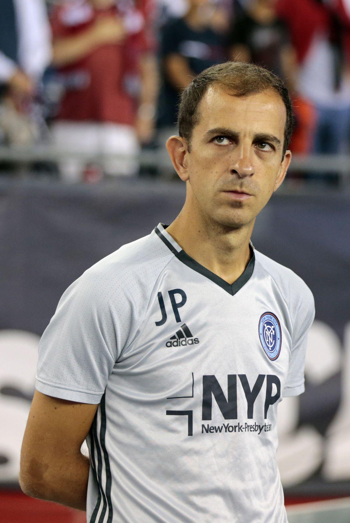 SOCCER: SEP 10 MLS - New York City FC at Revolution