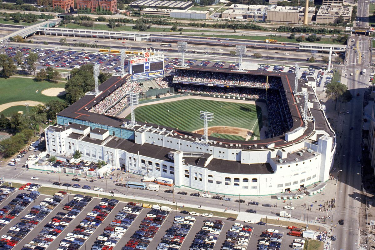 Comiskey Park Aerial View