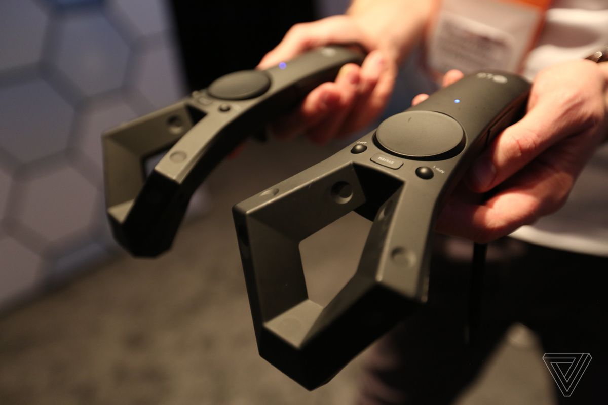 LG VR headset controllers