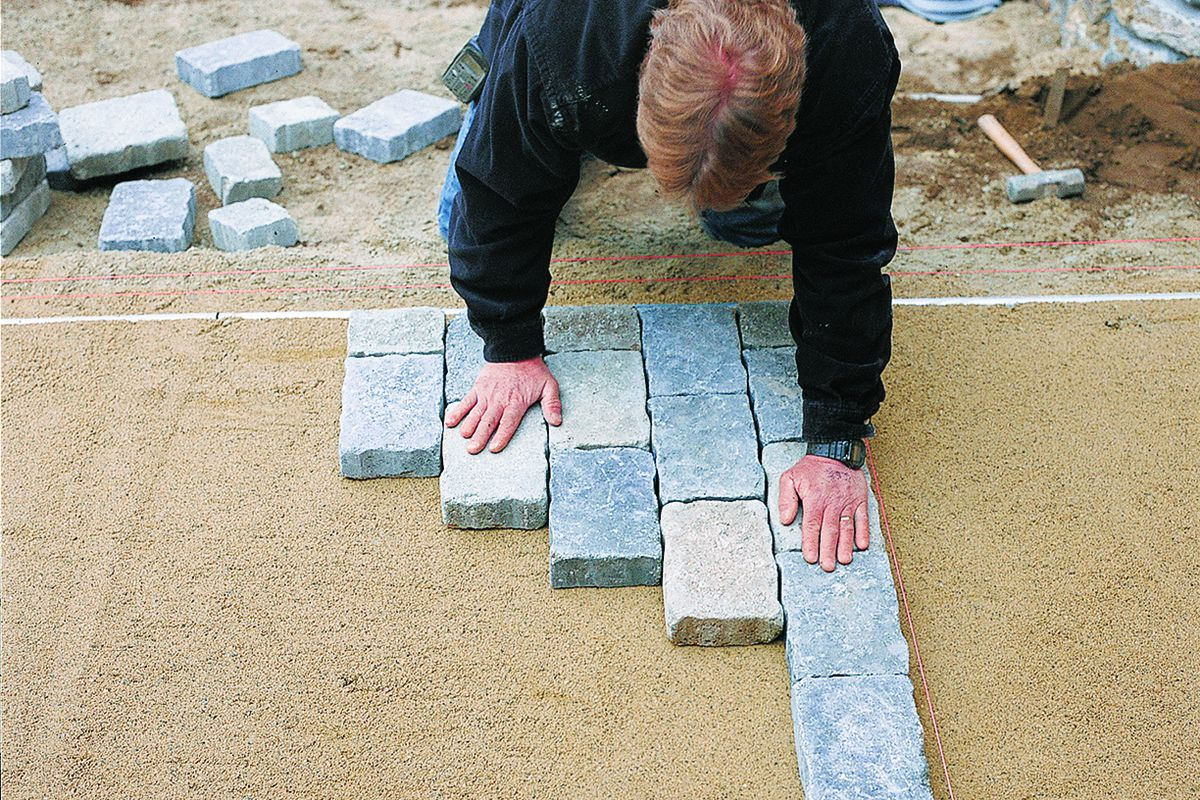 How To Install Pavers This Old House