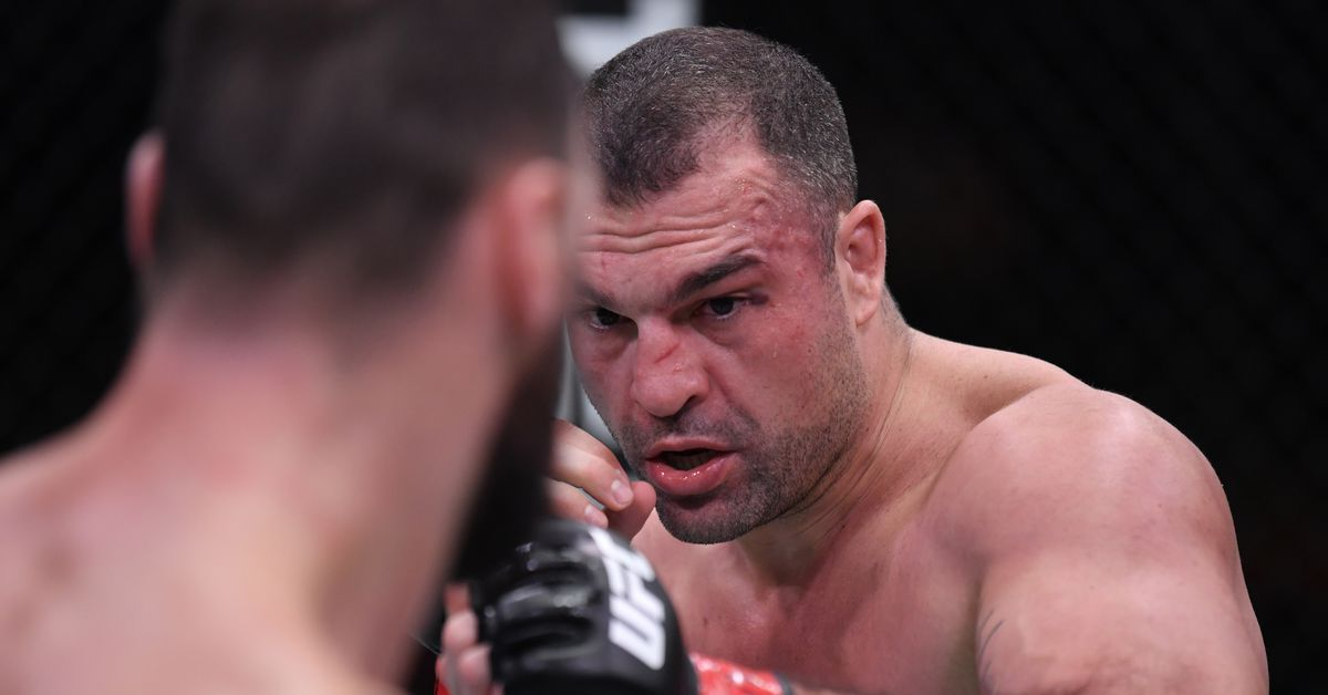 """Mauricio """"Shogun"""" Rua was injured in the first round of his fight with Paul Craig on Saturday in Las Vegas."""
