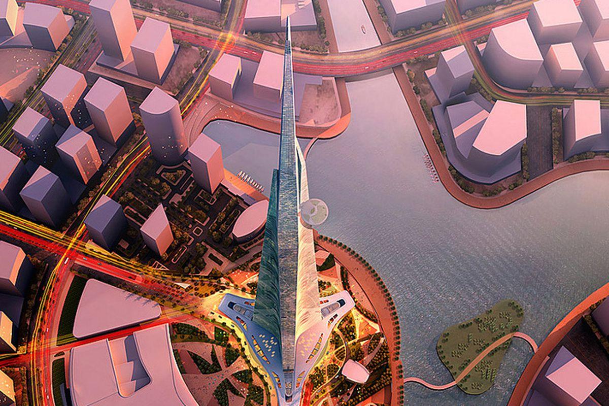 Kingdom Tower render