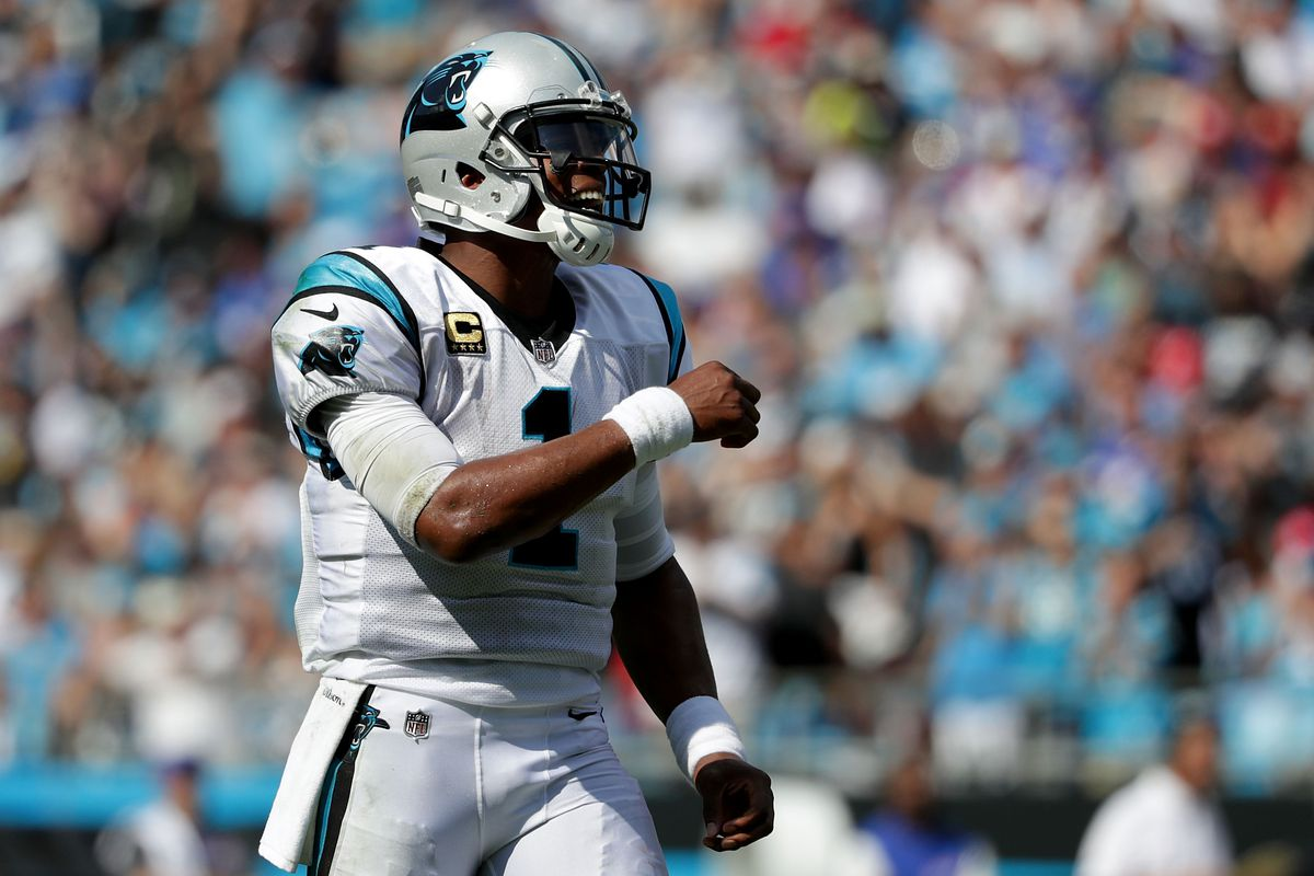 cheap for discount 5bad3 850a6 Carolina Panthers quarterback Cam Newton is underappreciated ...