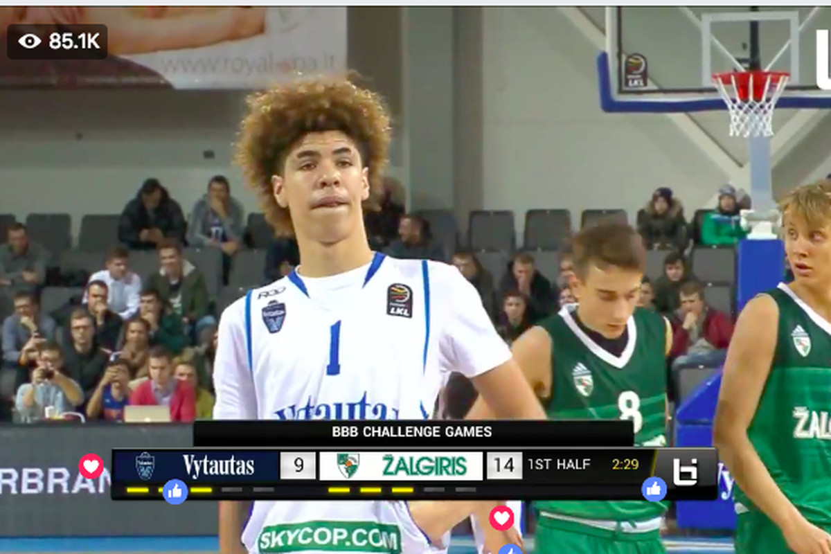 640c9fe8fe3d LaMelo and LiAngelo Ball s Lithuanian debut had no-look passes and ...