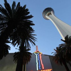 A view of the Stratosphere Tower in Las Vegas on Thursday, April 5, 2012.