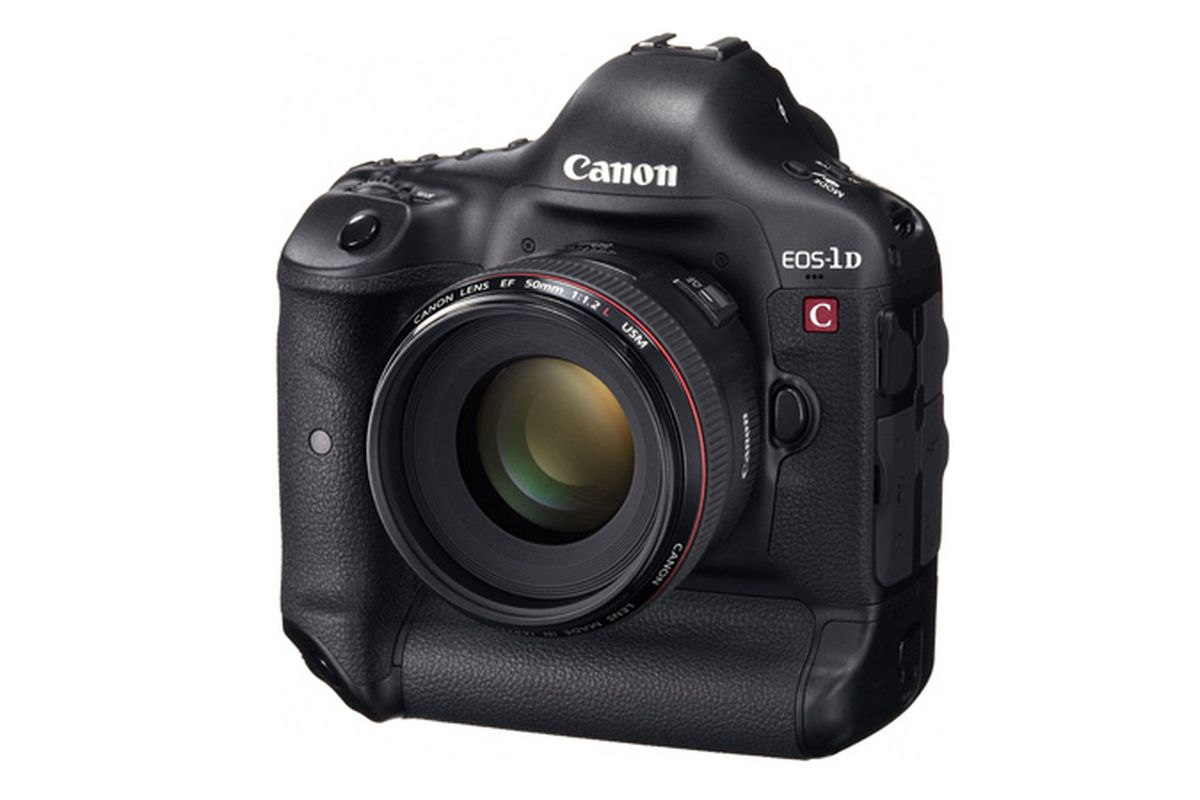 Canon introduces the EOS-1D C DSLR with 4K video capture, $15k price ...