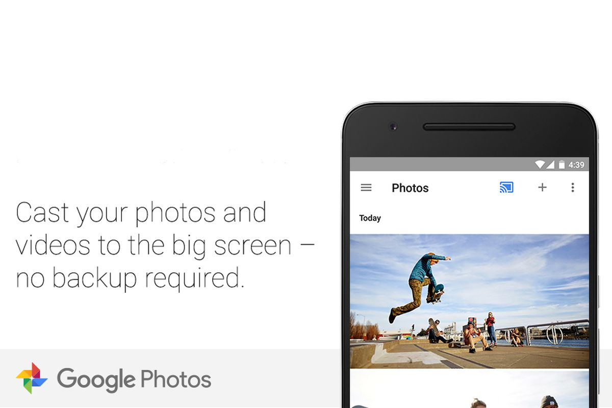 Google Photos for Android now works with Chromecast - The Verge