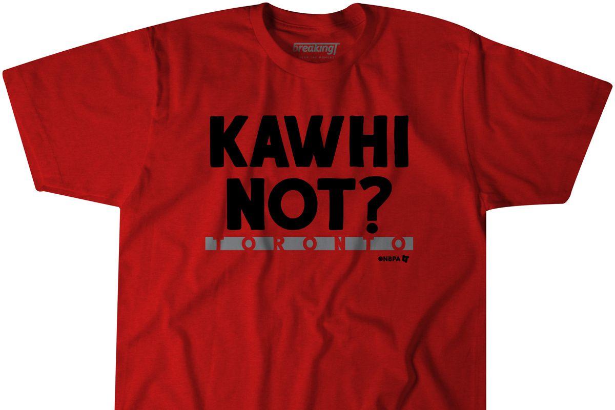 sports shoes 91083 3486f T-Shirt Sale: Get our new Kawhi Leonard t-shirt, celebrate ...