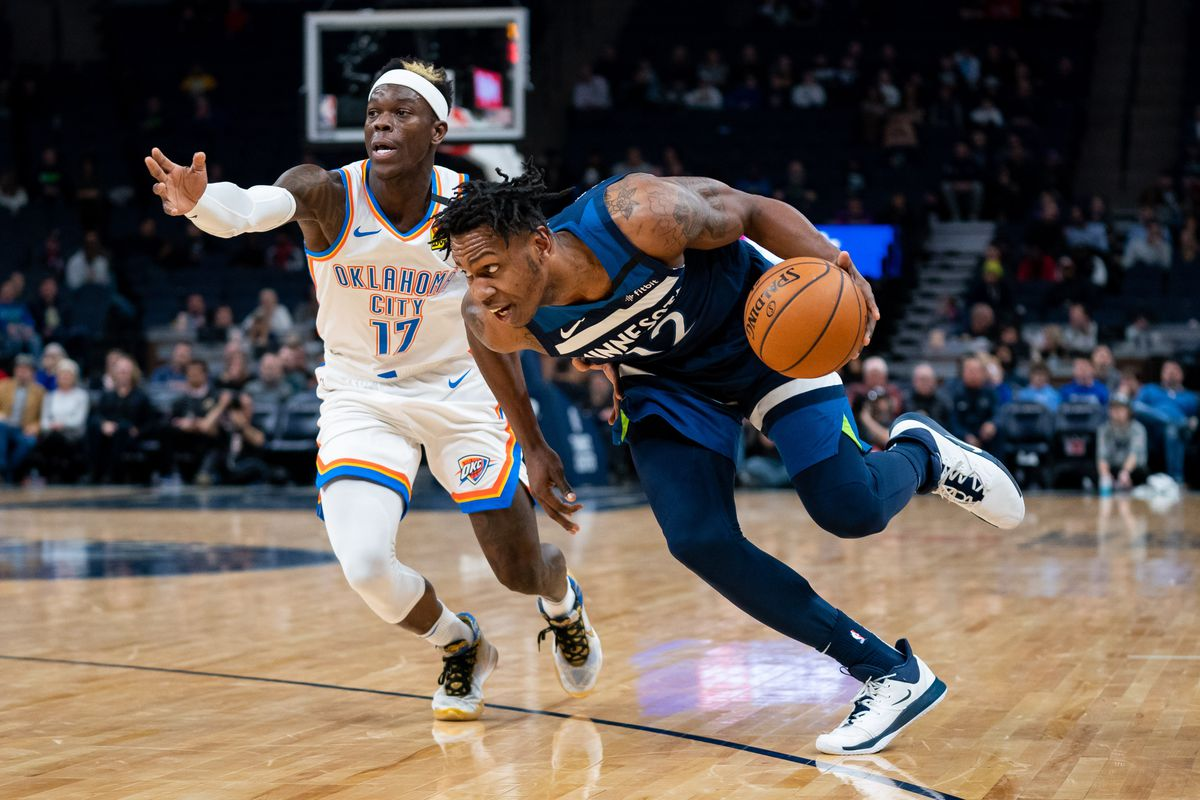 January 25: Oklahoma City @ Minnesota Timberwolves - Game Thread